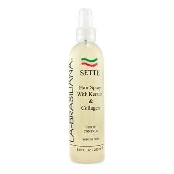 La Brasiliana SETTE Keratin Hair Spray 8oz