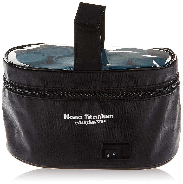 BaBylissPRO Nano Titanium 10-Piece Travel Hairsetter model BABNTHS10