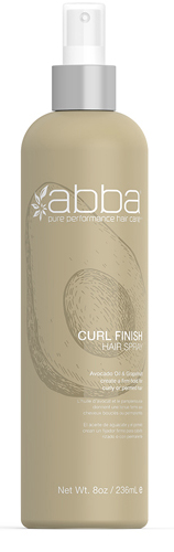 Abba Curl FInish Spray 8oz