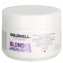 Goldwell DualSenses Blondes & Highlights Anti-Yellow 60 Second Treatment