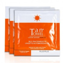 TanTowel Plus+ Towelettes
