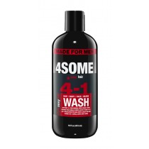 SexyHair 4Some 4-in-1 Hair Body Face & Beard 16oz