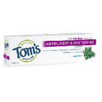 Toms of Maine Antipaque and Whitening Peppermint Toothpaste 5.5oz