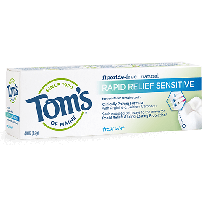 Tom's Of Maine Rapid Relief Sensitive Fresh Mint 4.0oz